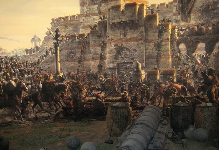 İstanbul'un fethi ve Fatih Sultan Mehmet Bizans'ı kuşatması