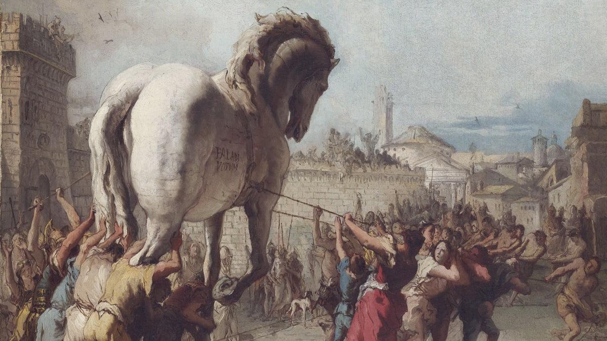 Trojan War / Giovanni Domenico Tiepolo