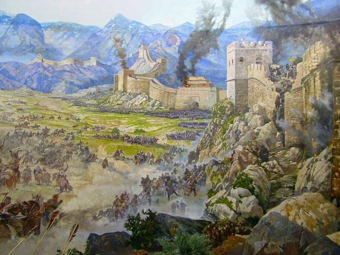 Moğolların Çin Seddi'ni aşması oldukça önemliydi.