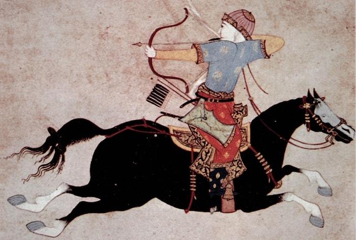 Cengiz Han ve Moğol atlıları