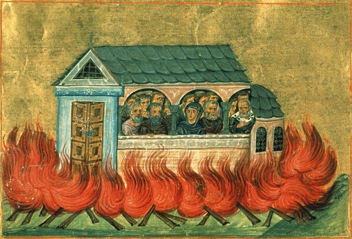 20,000 Martyrs of Nicomedia / Roma'nın hristiyanlık dinine geçişi