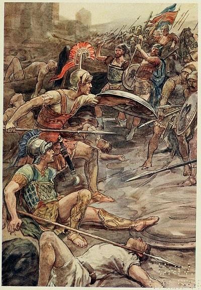 Epaminondas / The First Man of Greece / Makedonya