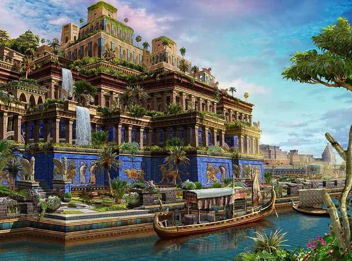 Dünyanın Yedi Harikası / Babil'in Asma Bahçeleri