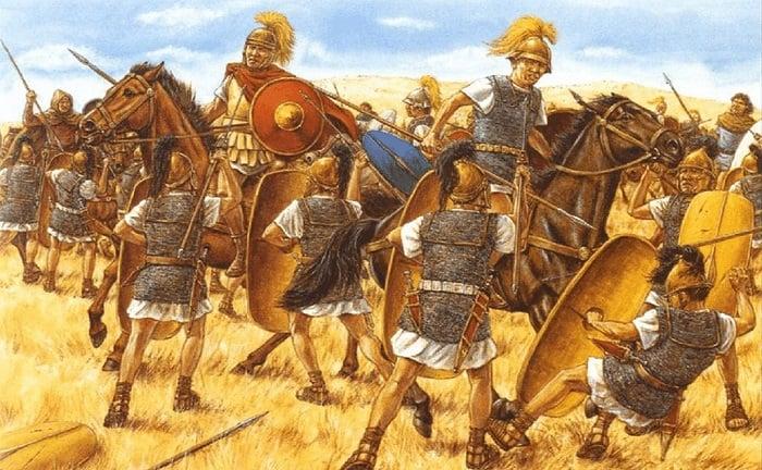 Sezar'ın MÖ 48'lerde Pharsalus savaşında Pompey'e karşı kazandığı zafer