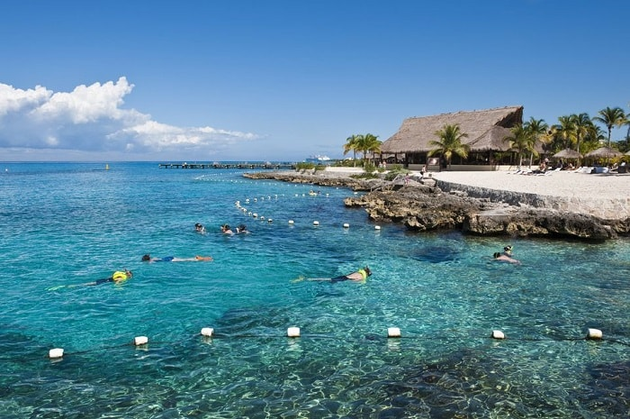 Chankanaab Beach Adventure Park / Cozumel'in en iyi plajları