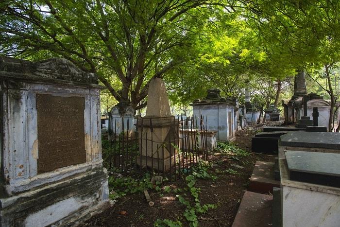 Colonial Cemetery / Tiruchirappalli