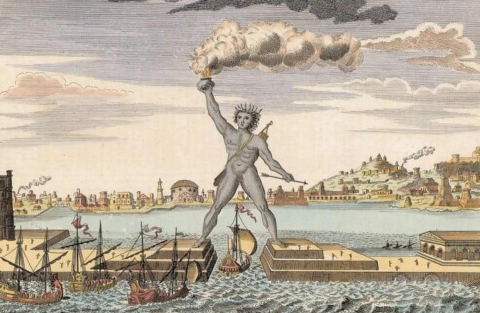 Dünyanın yedi harikası Rodos Heykeli / The Colossus of Rhodes: Ancient Greek Mega Statue