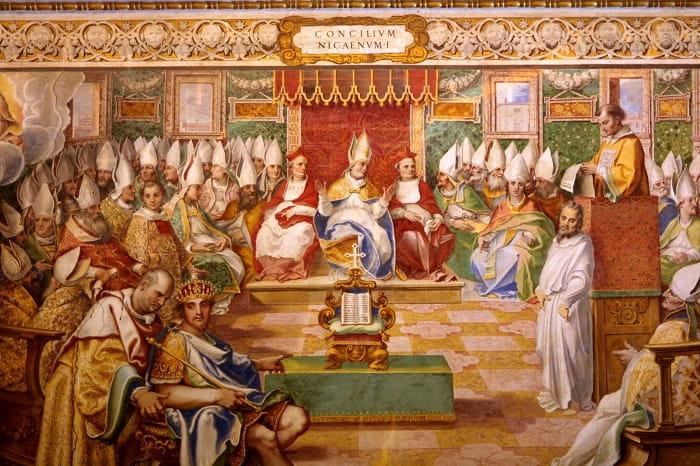 First Council of Nicaea / İlk İznik Konseyi / Roma'nın Hristiyanlığı kabulü