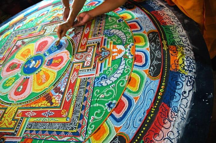 Tibet mandalası / Budizm