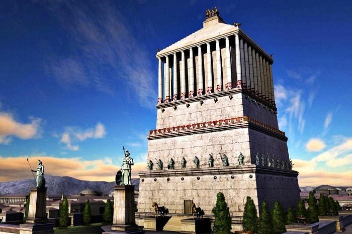 Mausolos'un Mezarı / Mausoleum at Halicarnassus, Turkey
