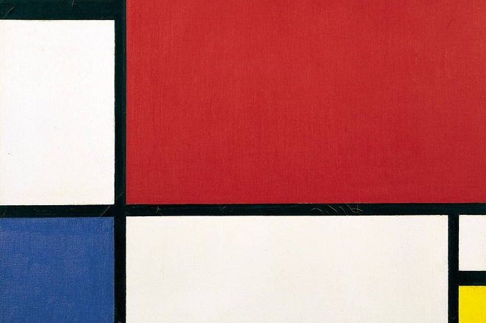 ''De Stijl'' / Piet Mondrian  / Composition with Red Blue and Yellow
