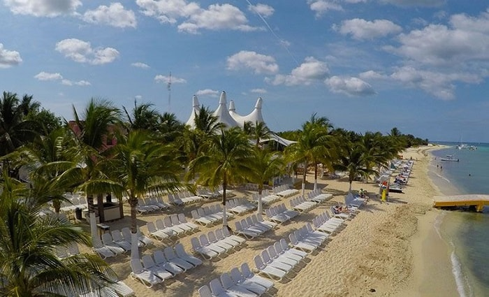 Playa Mia Grand Beach Park / Cozumel'in en iyi plajları