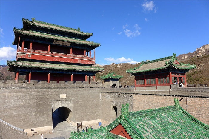 The Great Wall at Juyong Pass / Juyong Geçidindeki Çin Seddi / Çin Seddi