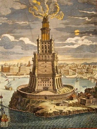 Dünyanın yedi harikası İskenderiye Feneri / The Lighthouse of Alexandria