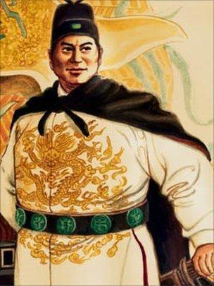 Ünlü müslüman Çinli amiral Zheng He.