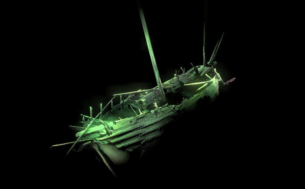 batık gemi baltık denizi