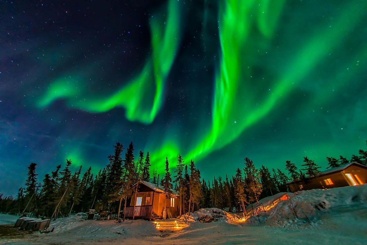 kuzey ışıkları aurora borealis