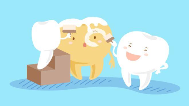 Diş neden sararır