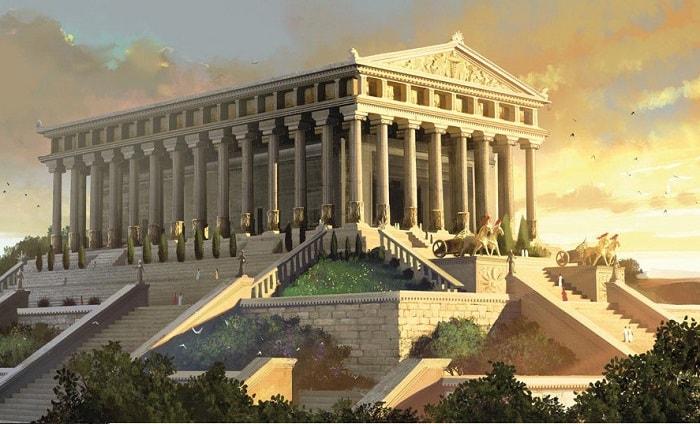 Dünyanın yedi harikası Efes Artemis Tapınağı / Tempel der Artemis Ephesos