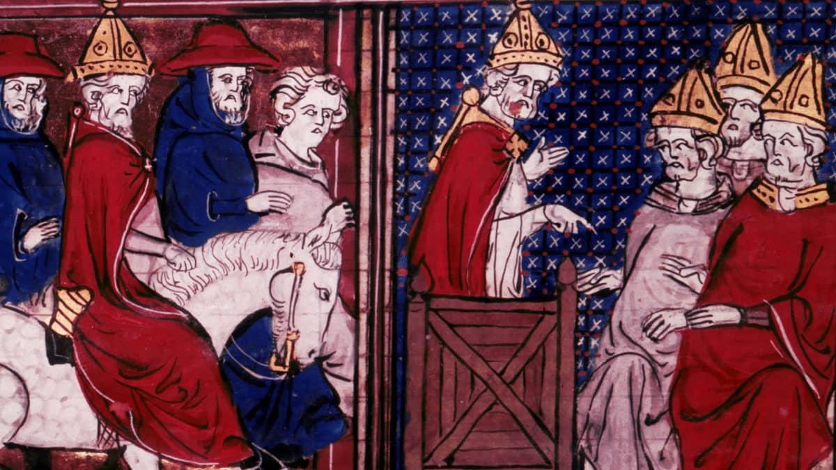 Birinci Haçlı Seferi / Pope Urban II orders first Crusade