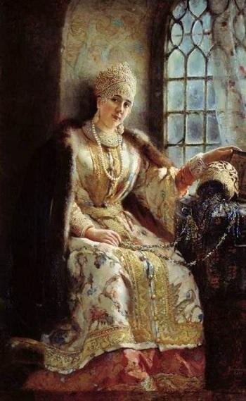 Korkunç İvan,  Anastasya Romanovna ile evli olduğu 13 yıl boyunca daha makul bir hükümdardı.