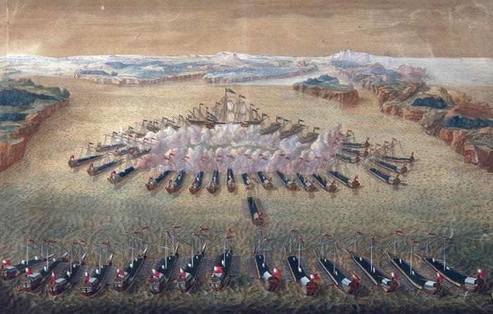 Rusya'nın 1714 yılında İsveç'e karşı kazandığı Gangut zaferi Avrupa'da kadırgaların kullanıldığı son önemli savaştı / Petro