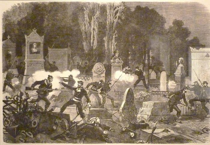 Pere-Lachaise Mezarlığı  / Paris Commune