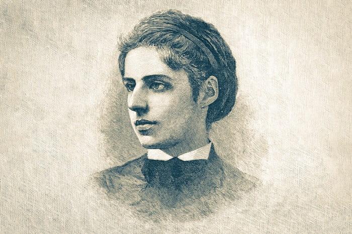 Musevi şair Emma Lazarus