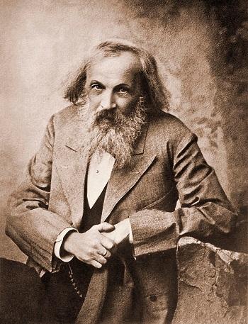 Dmitry Ivanovich Mendeleyev ve periyodik tablonun keşfi