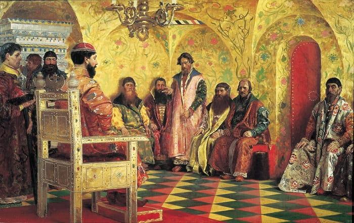 Boyarlar, Çarların hükümdarlığı döneminde en yüksek sınıftı