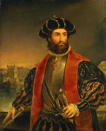 'Vasco da Gama' (yaklaşık 1460-1524), antonio Manuel da Fonseca, 1838