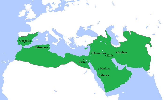 İspanya'ya kadar uzanan İslam İmparatorluğu Frank engelini aşamadığı için Avrupa'daki ilerlemeyi devam ettiremedi
