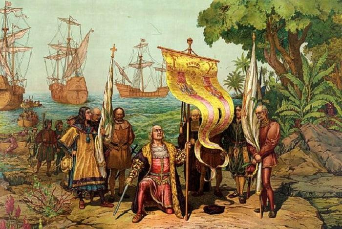 Kristof Kolomb'un Amerika'yı keşfi