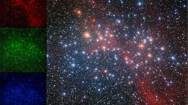 uzay fotoğrafı renk filtresi