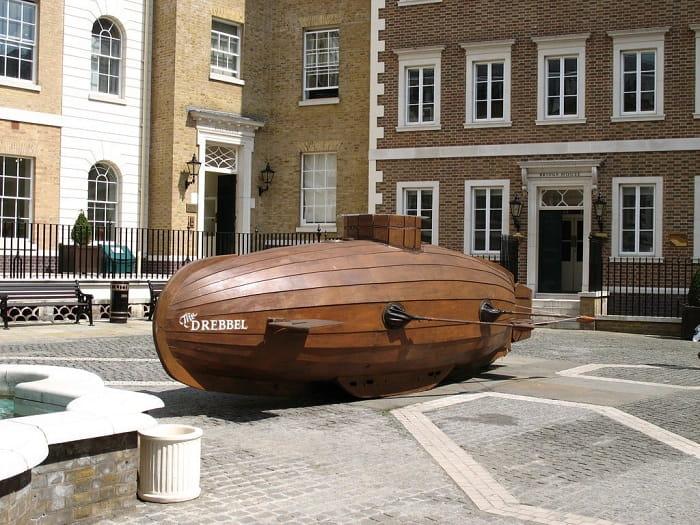 Dünyanın ilk denizaltısı / Cornelius Drebbel /