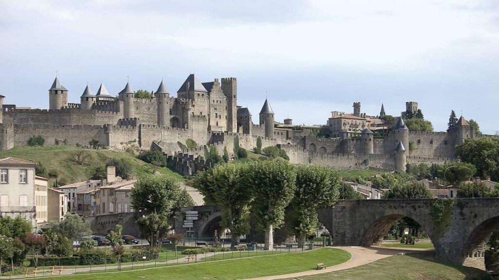Kentin Ortaçağ tahkimatı, Carcassonne, Fransa