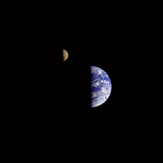 dünya ve ay