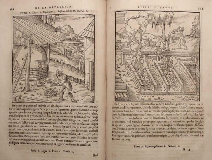Madencilik üstüne ilk önemli kitap; De Re MetallIca  / İslam mühendisliği
