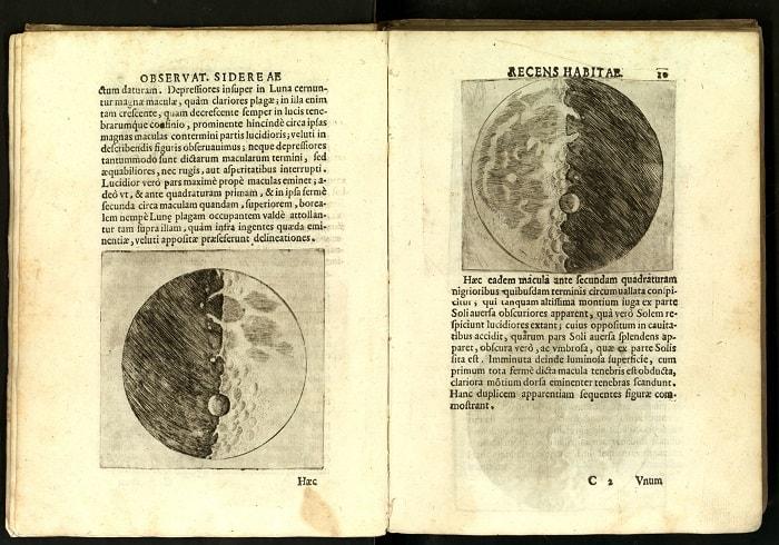 Sidereus Nuncius, 13 Mart 1610'da Galileo Galilei tarafından New Latin'de yayınlanan kısa bir astronomik tezdir