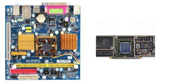 chipset ve soc