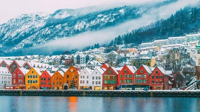 norveç evleri