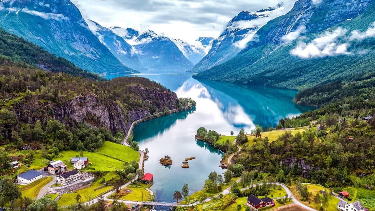 norveç manzarası