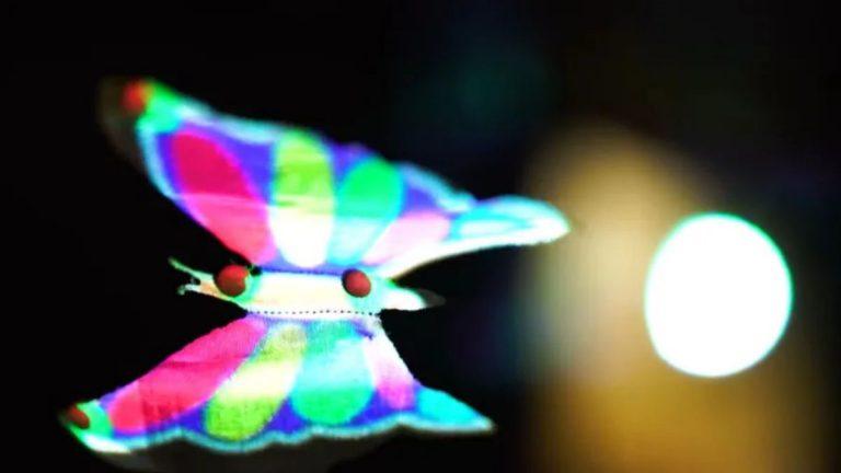 üç boyutlu hologram