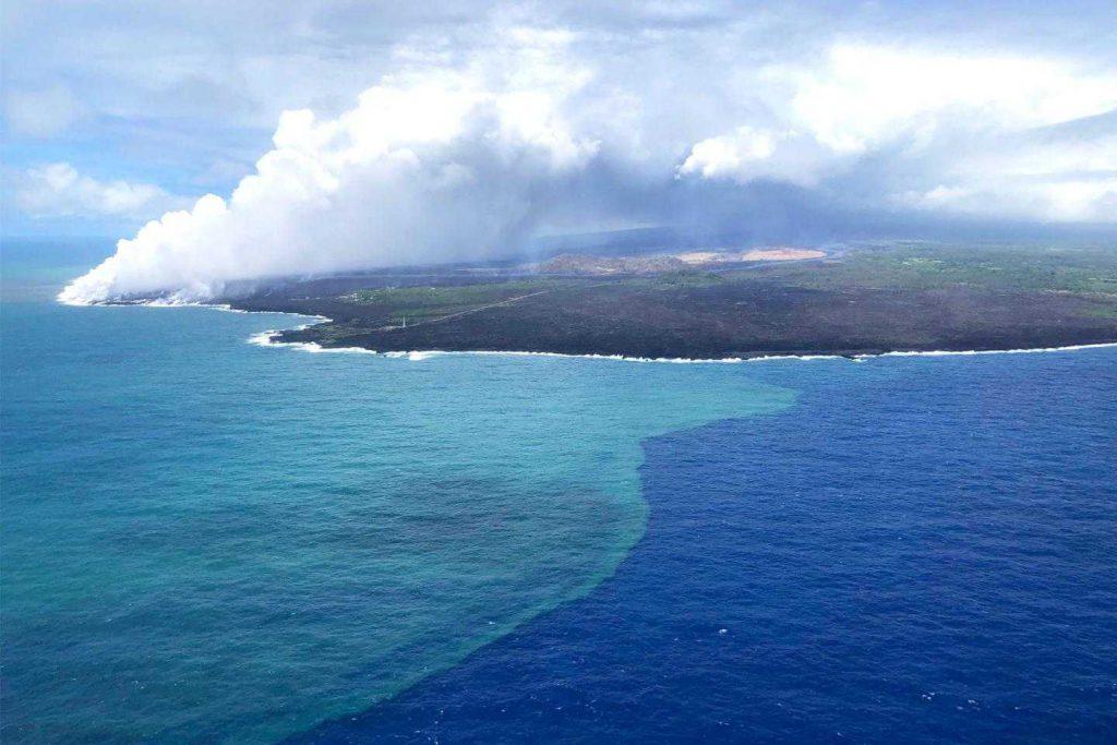 Kilauea Volkanı, Hawaii, Pasifik Okyanusu