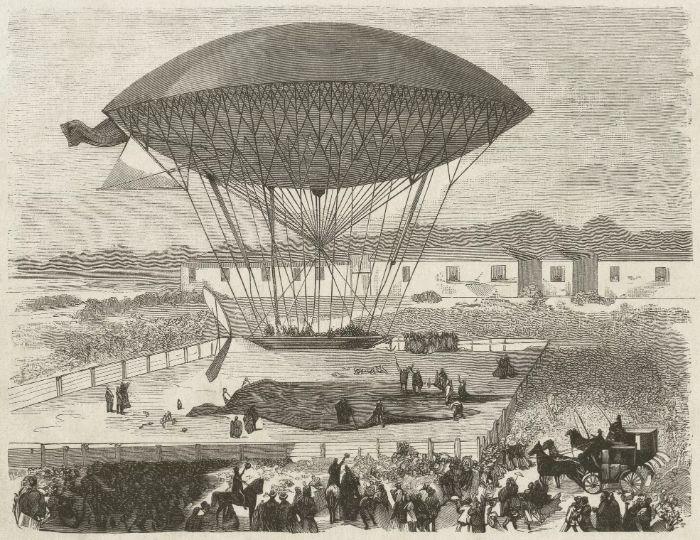 İlk sıcak hava balonu 1783 baharında Joseph ve Etienne Montgolfier kardeşler tarafından uçuruldu.