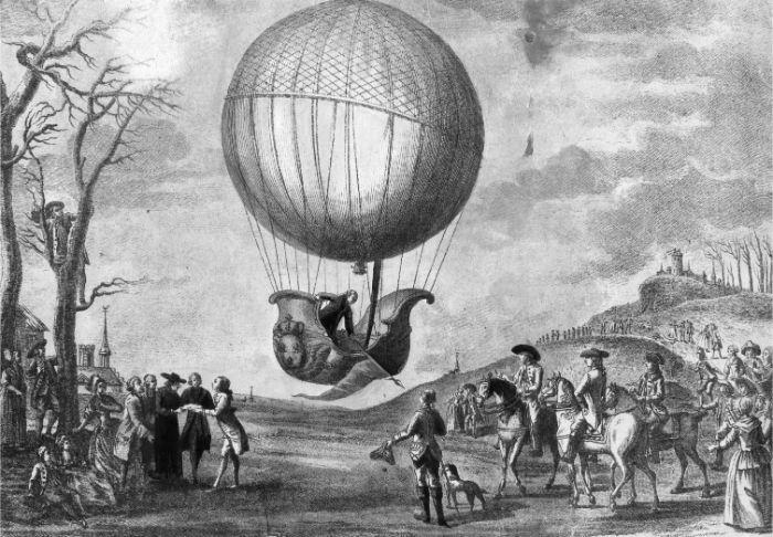 ilk hidrojen balonu Fransız Jacques Charles (1746-1823) ve Nicolas Robert