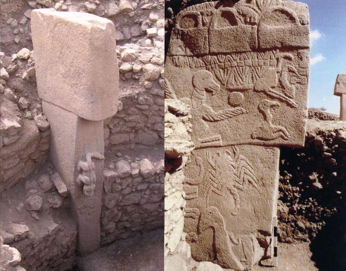 göbekli tepe'de 11.000 yıl önceye göre fazlasıyla detaylı megalit çizimleri