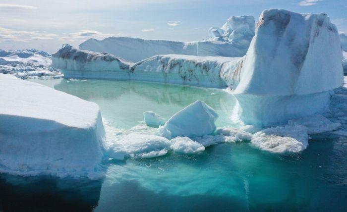 Kuzey kutbu buzul erimesi