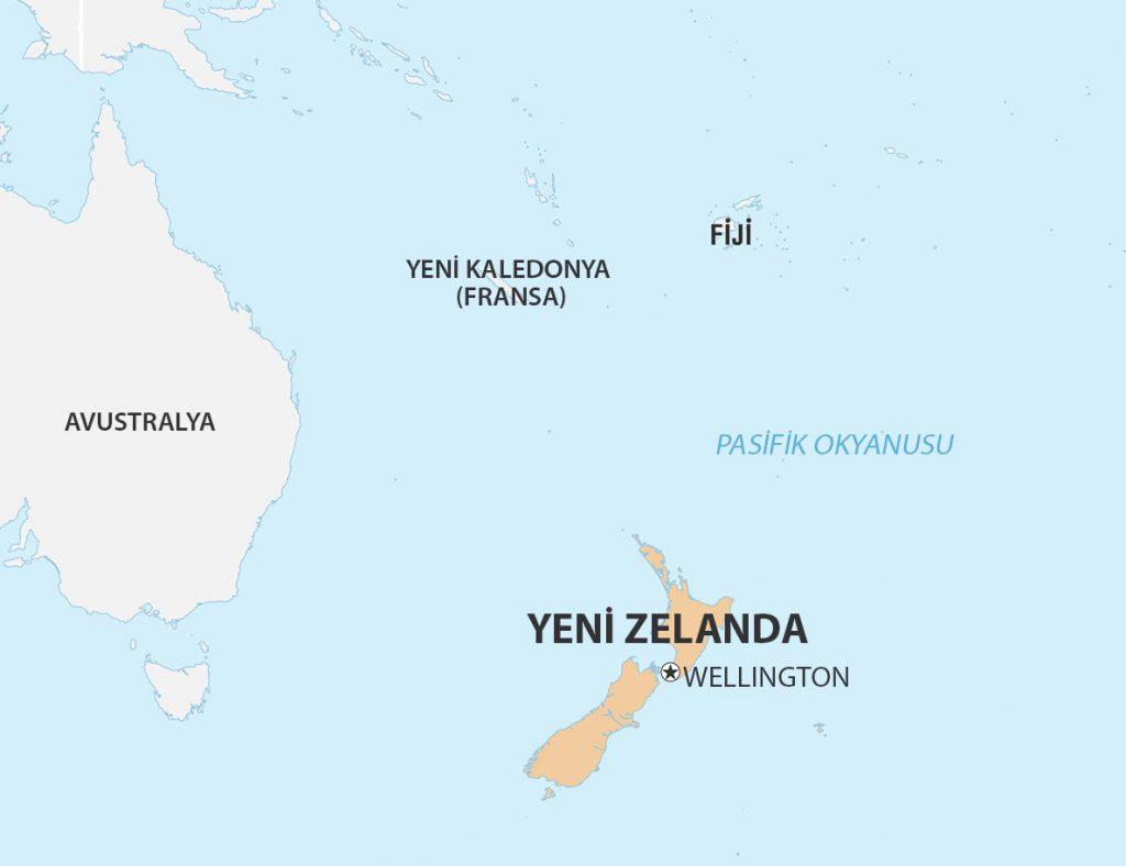 yeni zelanda haritası-2