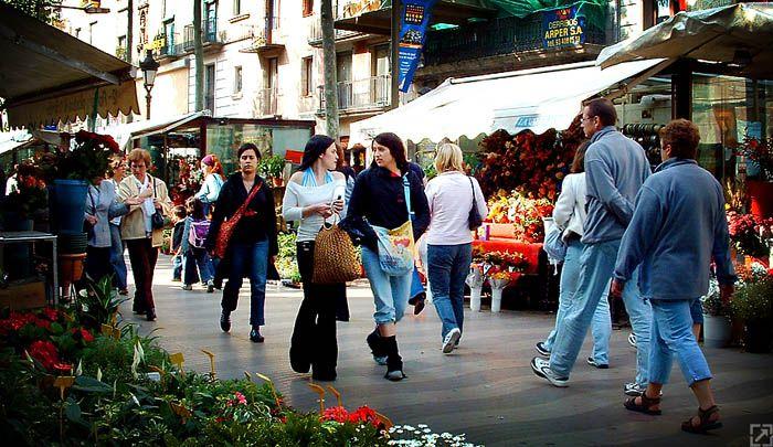 barselona sokakları